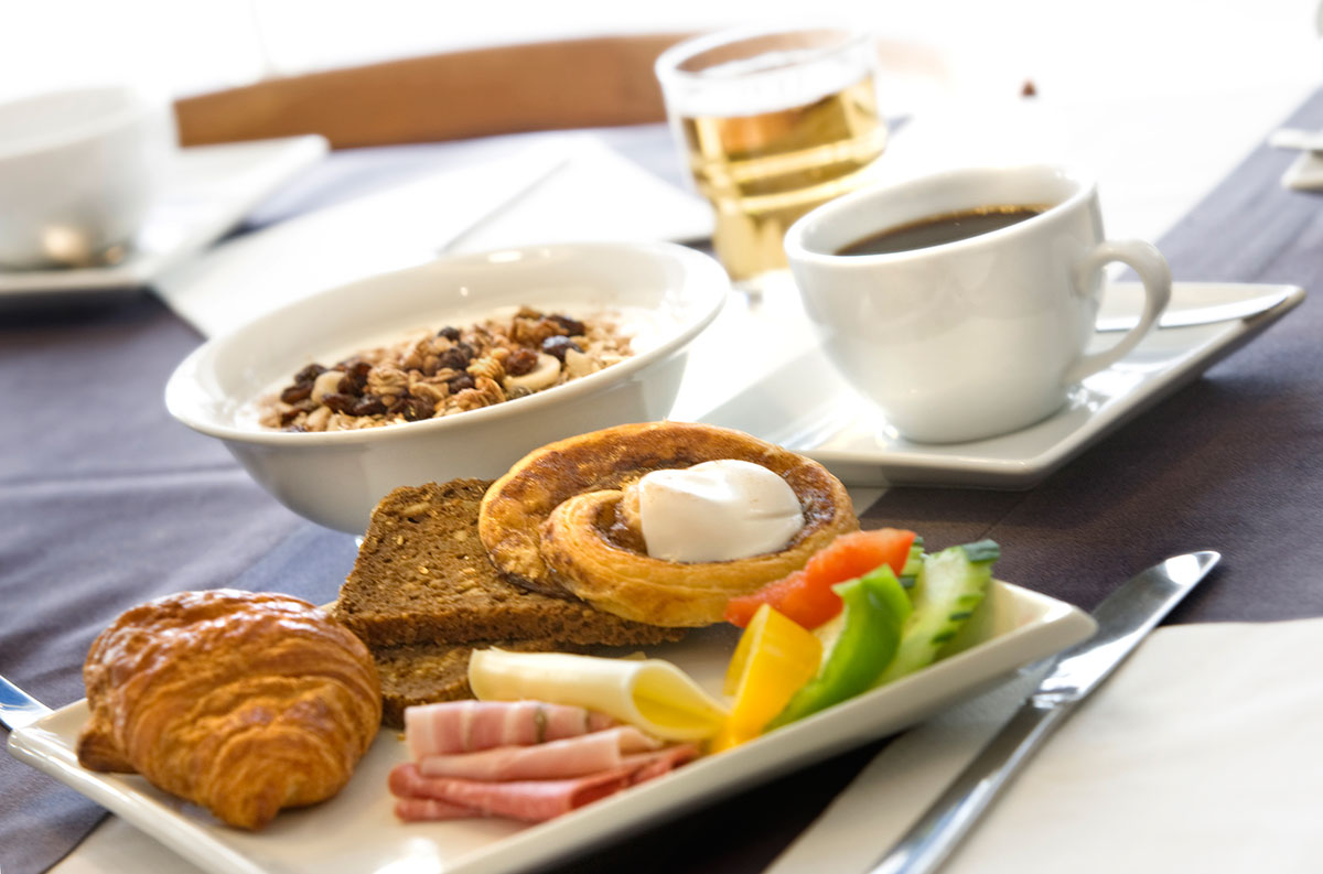 Free breakfast at Hotel Christian IV Copenhagen